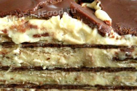 рецепт торта из безе без выпечки