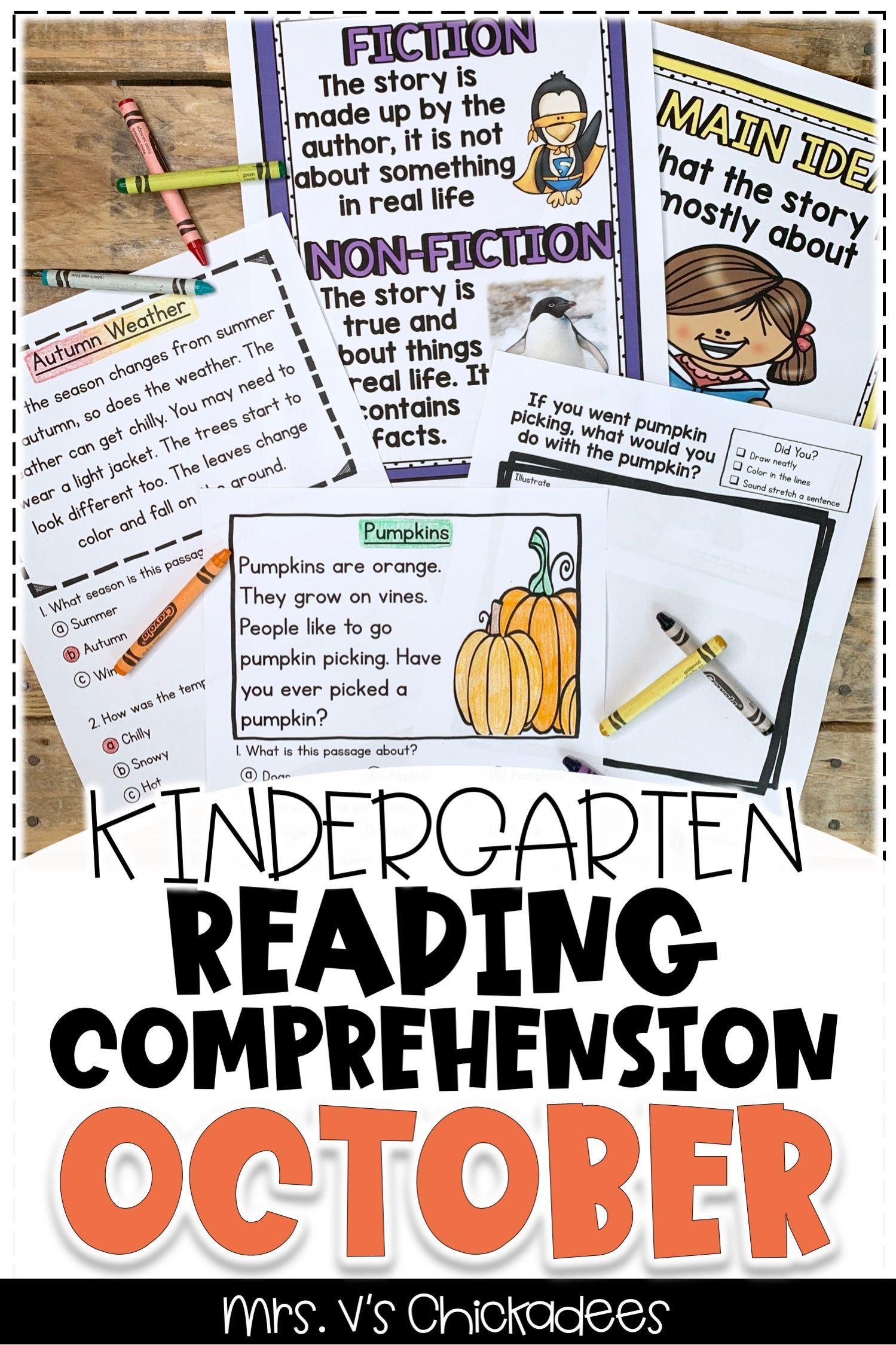 Reading Comprehension Passages Questions October Edition Reading Comprehension Kindergarten Reading Comprehension Passages Kindergarten Reading [ 2249 x 1499 Pixel ]