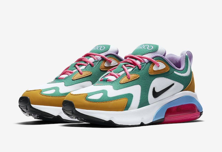 Nike Air Max 200 Mystic Green AT6175 300 Release Date SBD