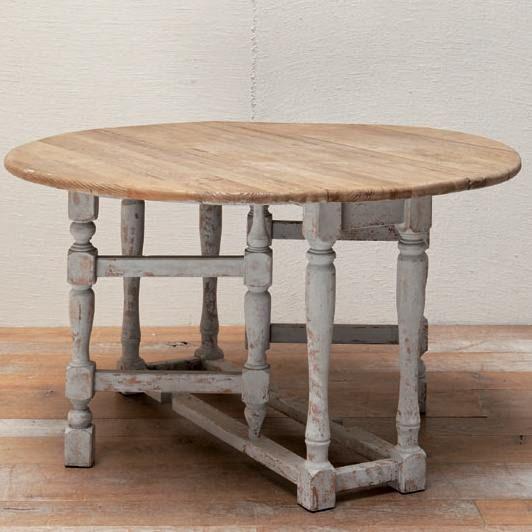 Mesa de comedor plegable fabricada en madera de pino silvestre ...