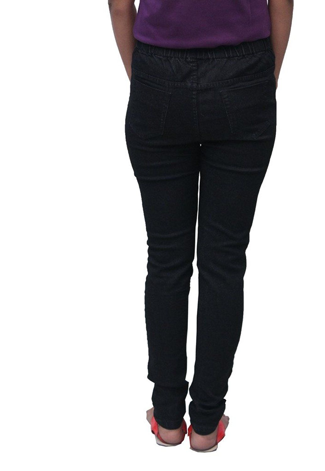 Romano Women's Black Denim Jegging ** Amazing deals just a click away : Women's Fashion for FREE