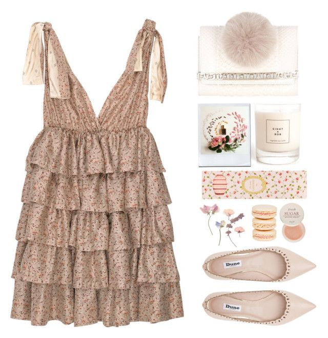 """""""J U N E"""" by yellowgrapes ❤ liked on Polyvore featuring By Malene Birger, Jimmy Choo, Dune, Eight & Bob, Fresh, Ladurée, Mikimoto and Valchemy Lab"""