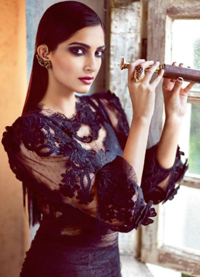 sonam kapoor harper's bazaar magazine hot photoshoot | spicy cine