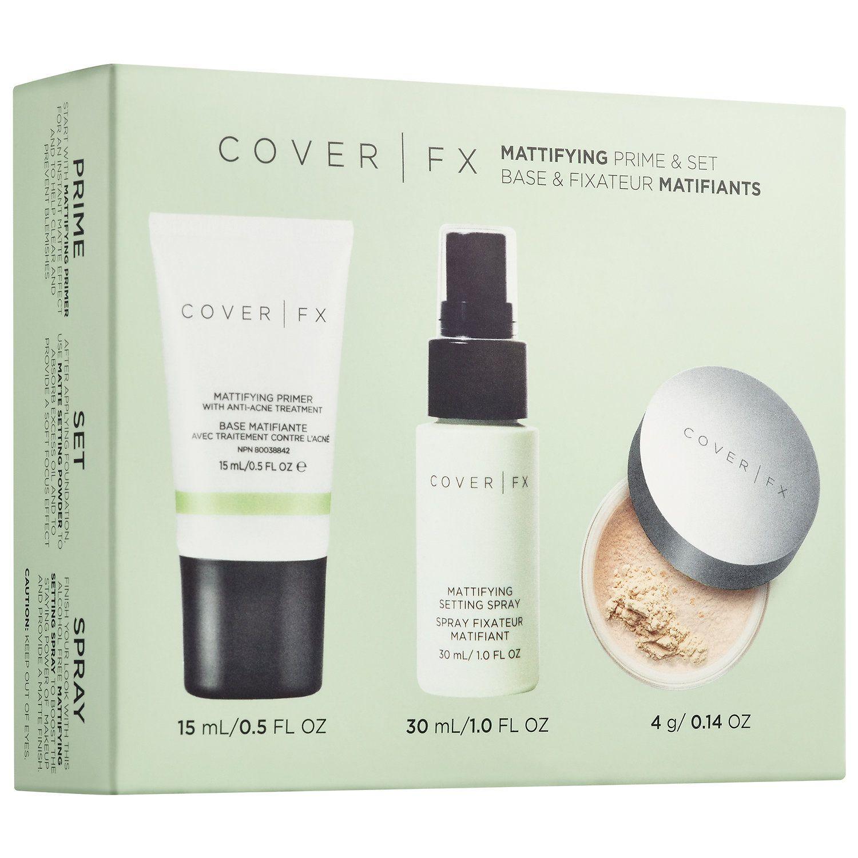 Mattifying Prime & Set COVER FX Sephora Makeup