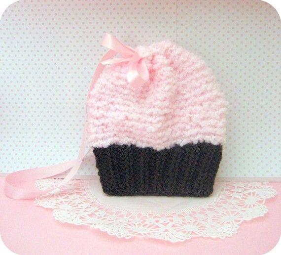 Amigurumi Knit Simple Cupcake Purse Pattern Digital ...