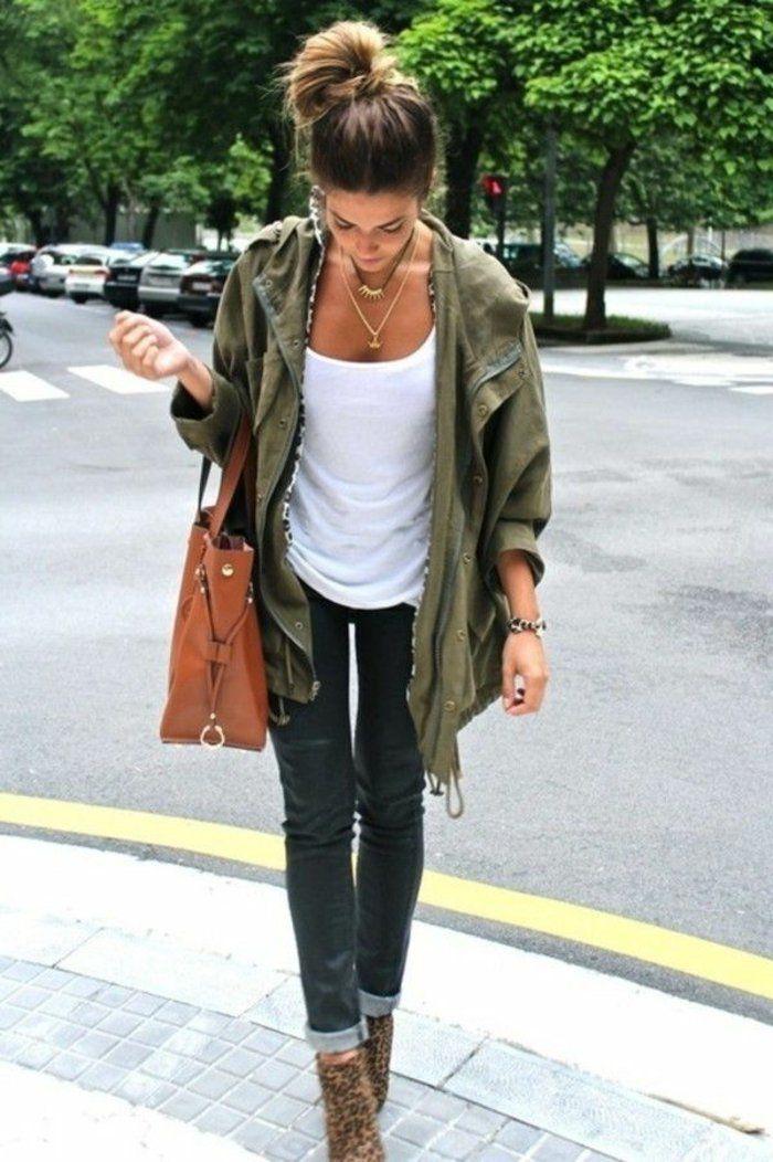 3bea41eb01a5b Tous les styles de la veste militaire femme   Hip Style   Fashion ...