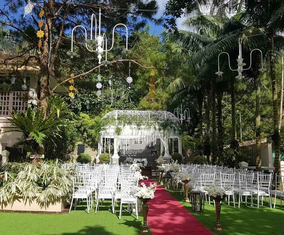Wedding In The Beautiful Garden Alfonso Philippines Wedding Package From Hillcreek Gardens Tagayt Tagaytay Wedding Philippine Wedding Pastel Wedding Colors