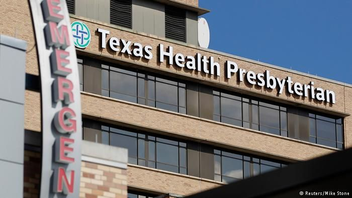 Dozens Released In Us After Showing No Signs Of Ebola Deutsche Welle Us Ebola Care Worker Presbyterian Hospital Ebola