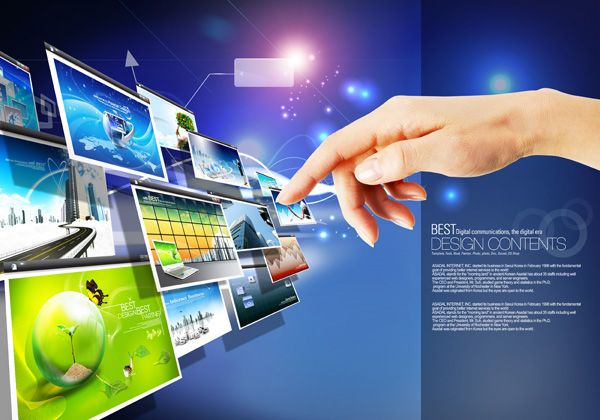Creative Technology Posters Psd Technology Posters Technology Advertisement Template