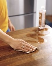 All About Wood Countertops Double Boiler Paraffin Wax And Mineral Oil