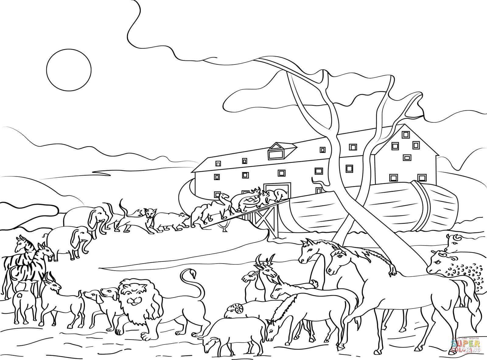 99 Neu Arche Noah Ausmalbild Stock Malvorlagen Tiere Bibel Malvorlagen Arche Noah