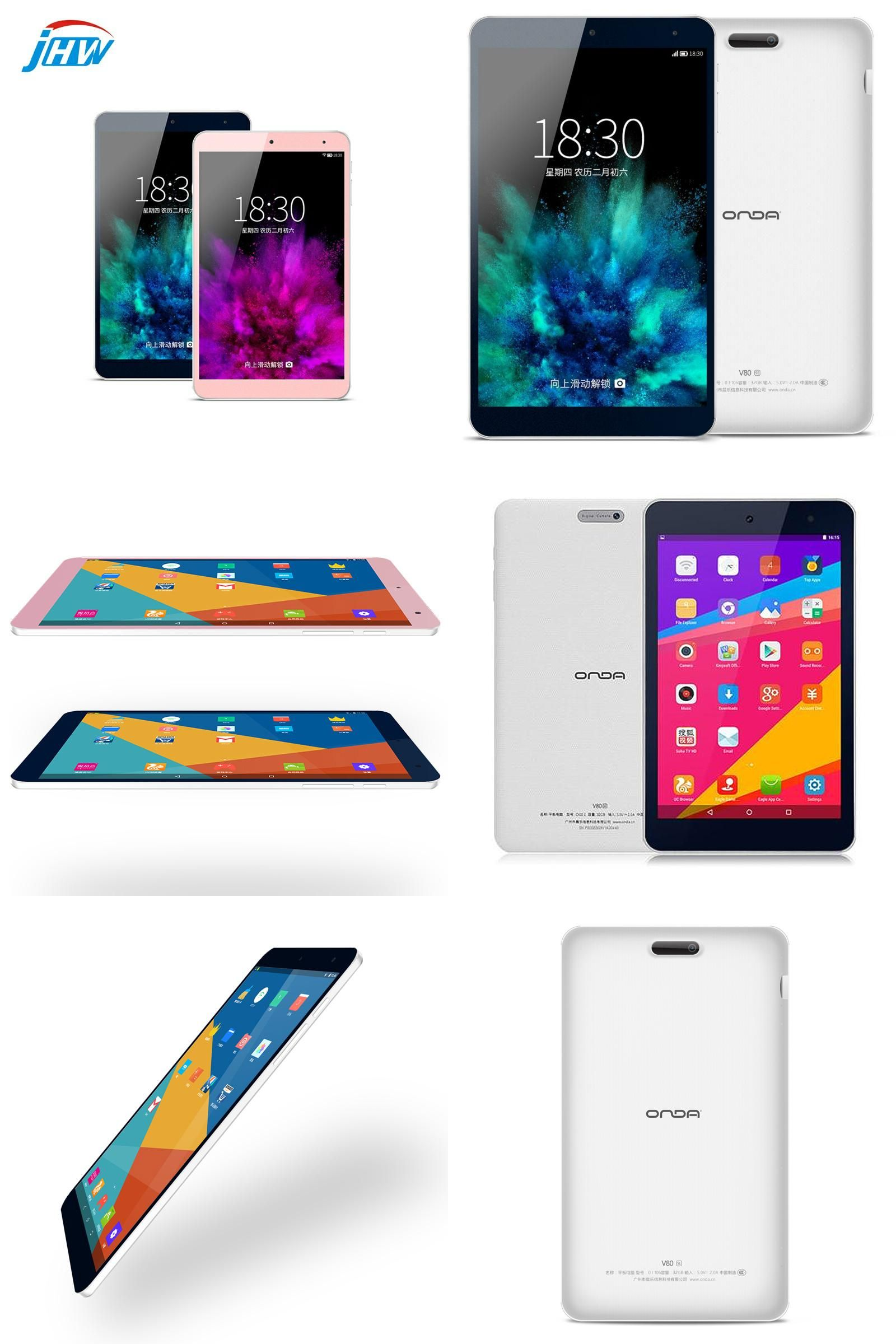 Visit to Buy] 8 Inch Onda V80 SE Android 5 1 Tablet PC