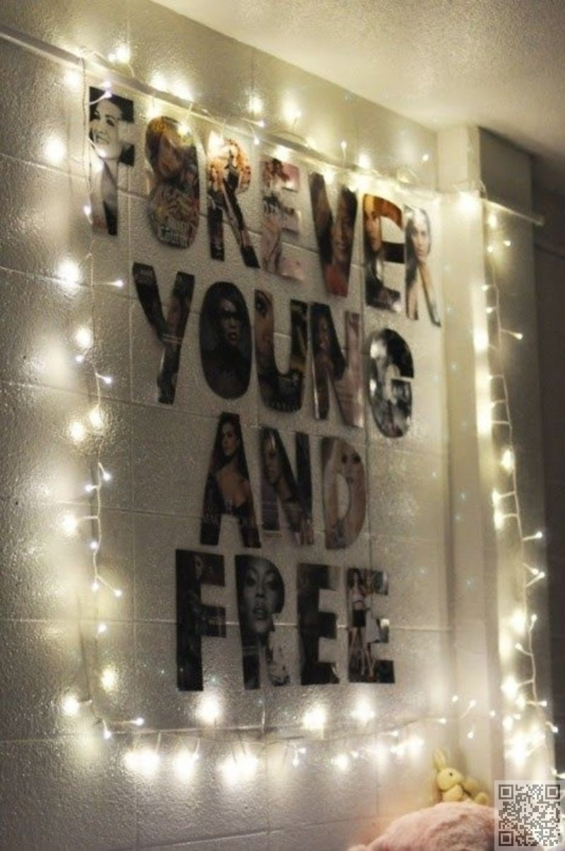 16. diy wall #decor - 34 diy dorm room decor projects to #spice up