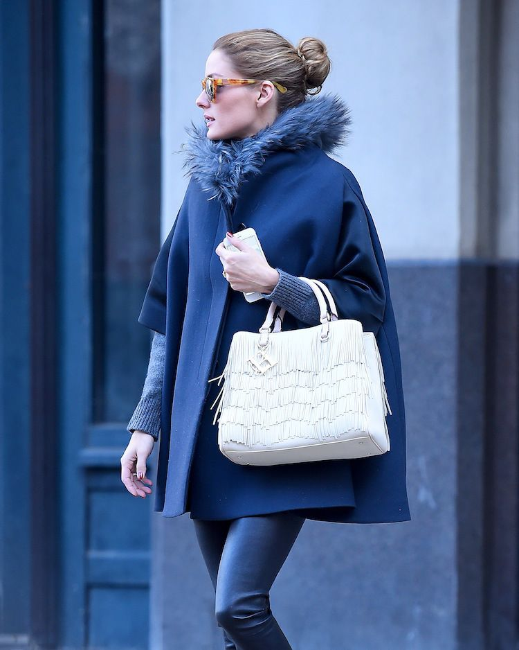 Celebrity Style  Olivia Palermo with her