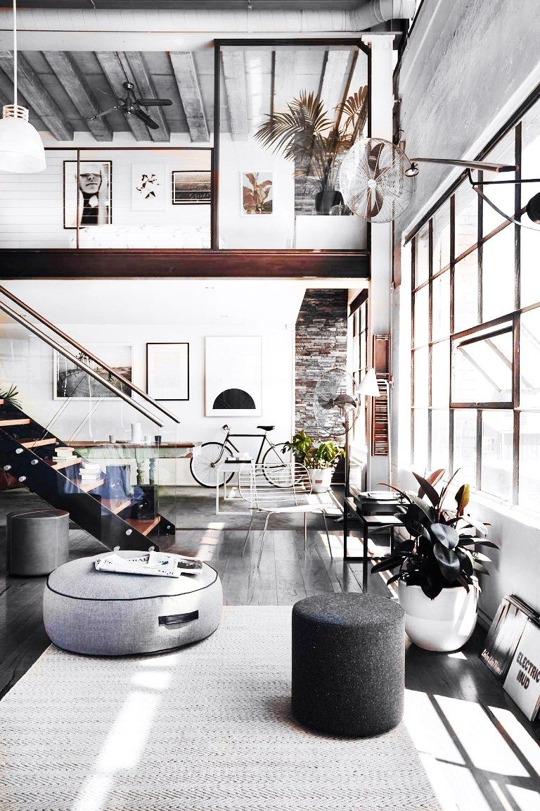 Fe: The Most Beautiful Apartments That Blew Up Pinterest Rustic Loft,  Rustic Homes,