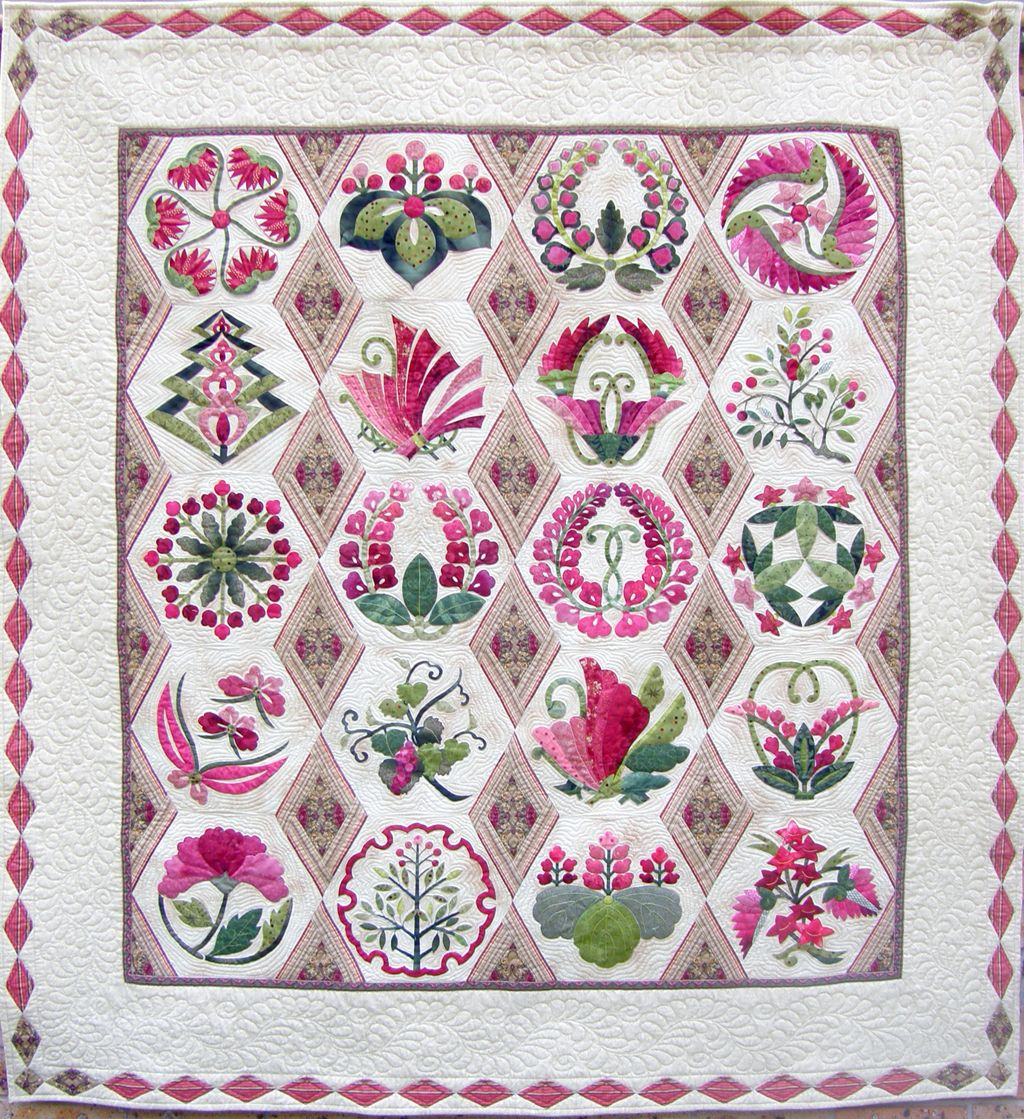 Quilt Inspiration: Quilt Artist Val Moore from Sydney, Australia ... : japanese style quilts - Adamdwight.com