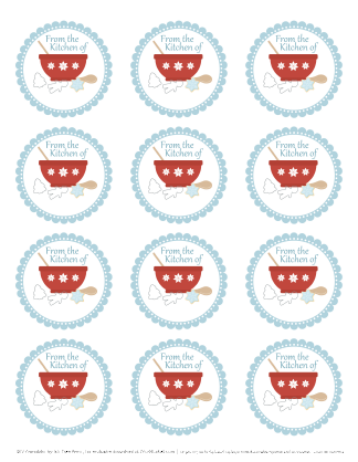 from the kitchen of labels printables free printables rh pinterest com Free Editable Label Templates Free Canister Label Templates