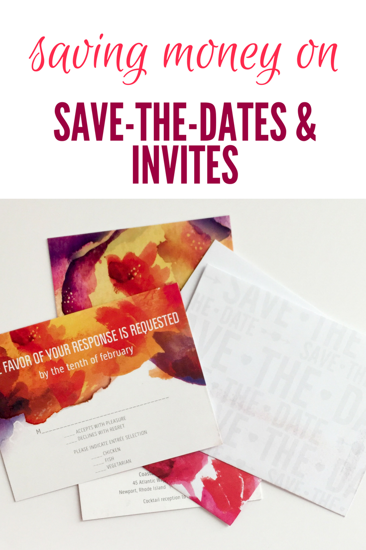 Gorgeous Save-the-Dates & Invites on a Budget | Invitation suite ...