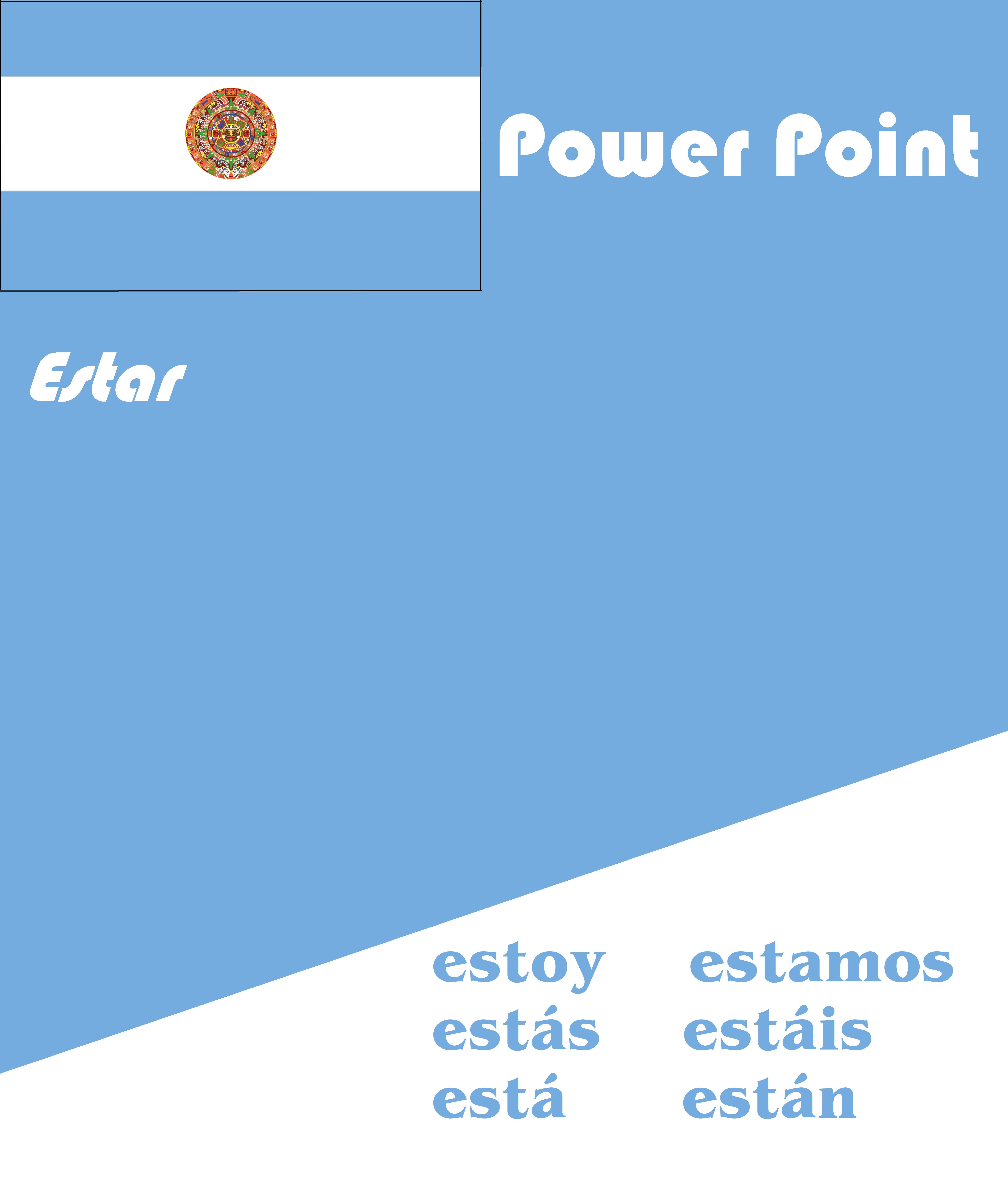 Spanish Estar Powerpoint Distance Learning