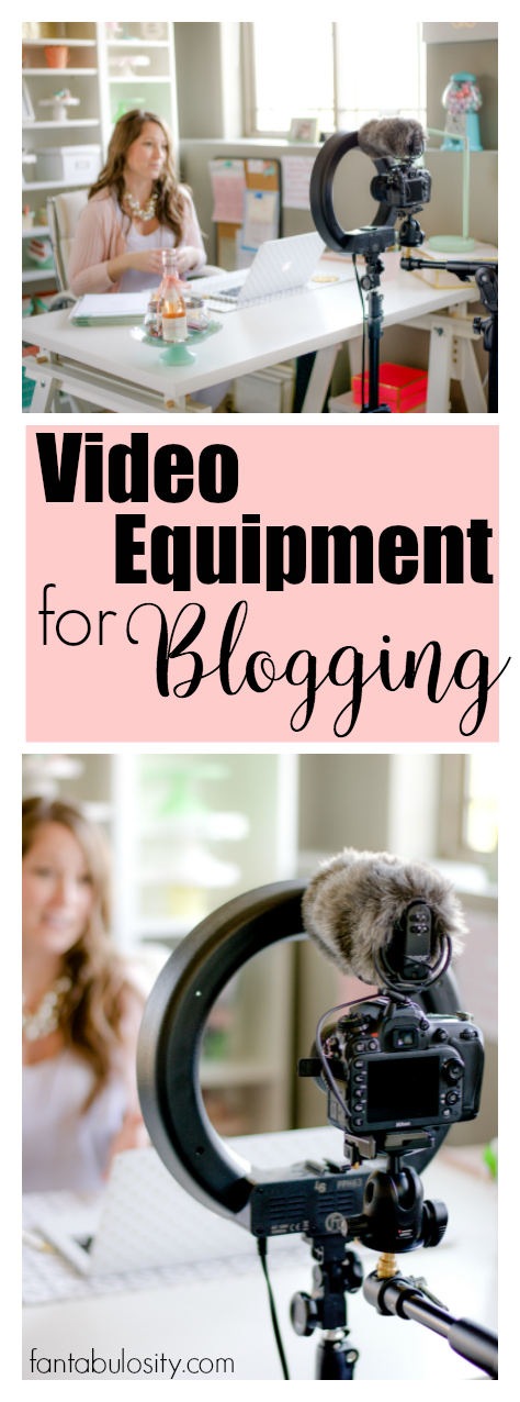 Video Equipment For Blogging And Vlogging Perfect For A