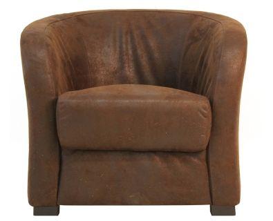 Club Chair (Bicast Suede)