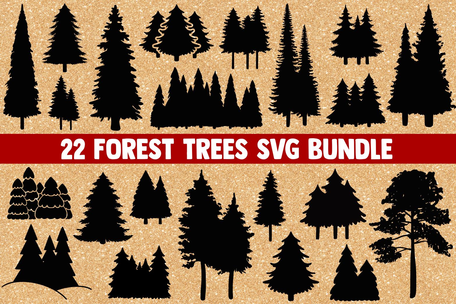 Forest Svg Bundle Tree Svg Pine Tree Svg Digitanza Tree Svg Forest Logo Pine Tree