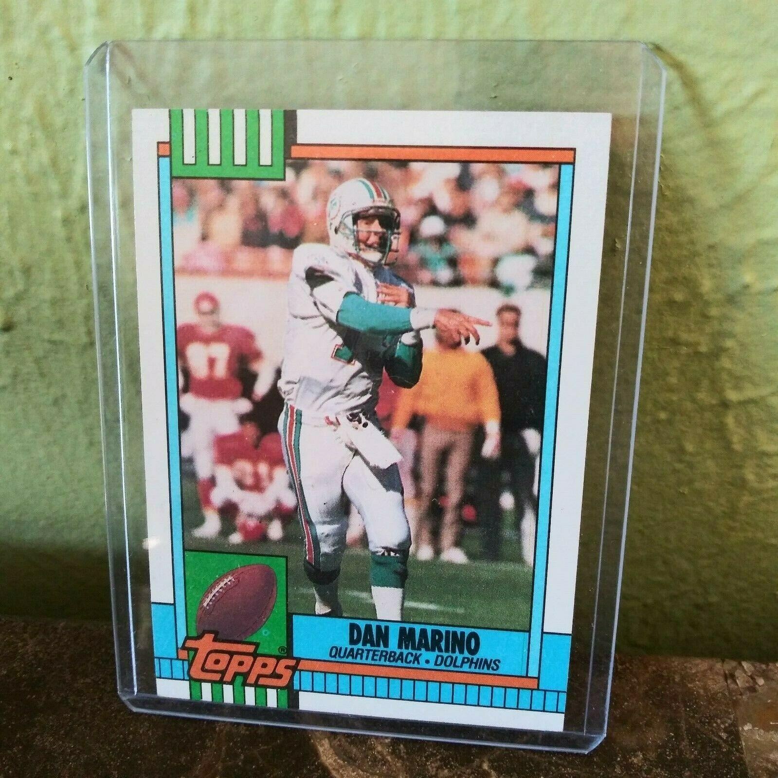 1990 topps dan marino miami dolphins 323 football card