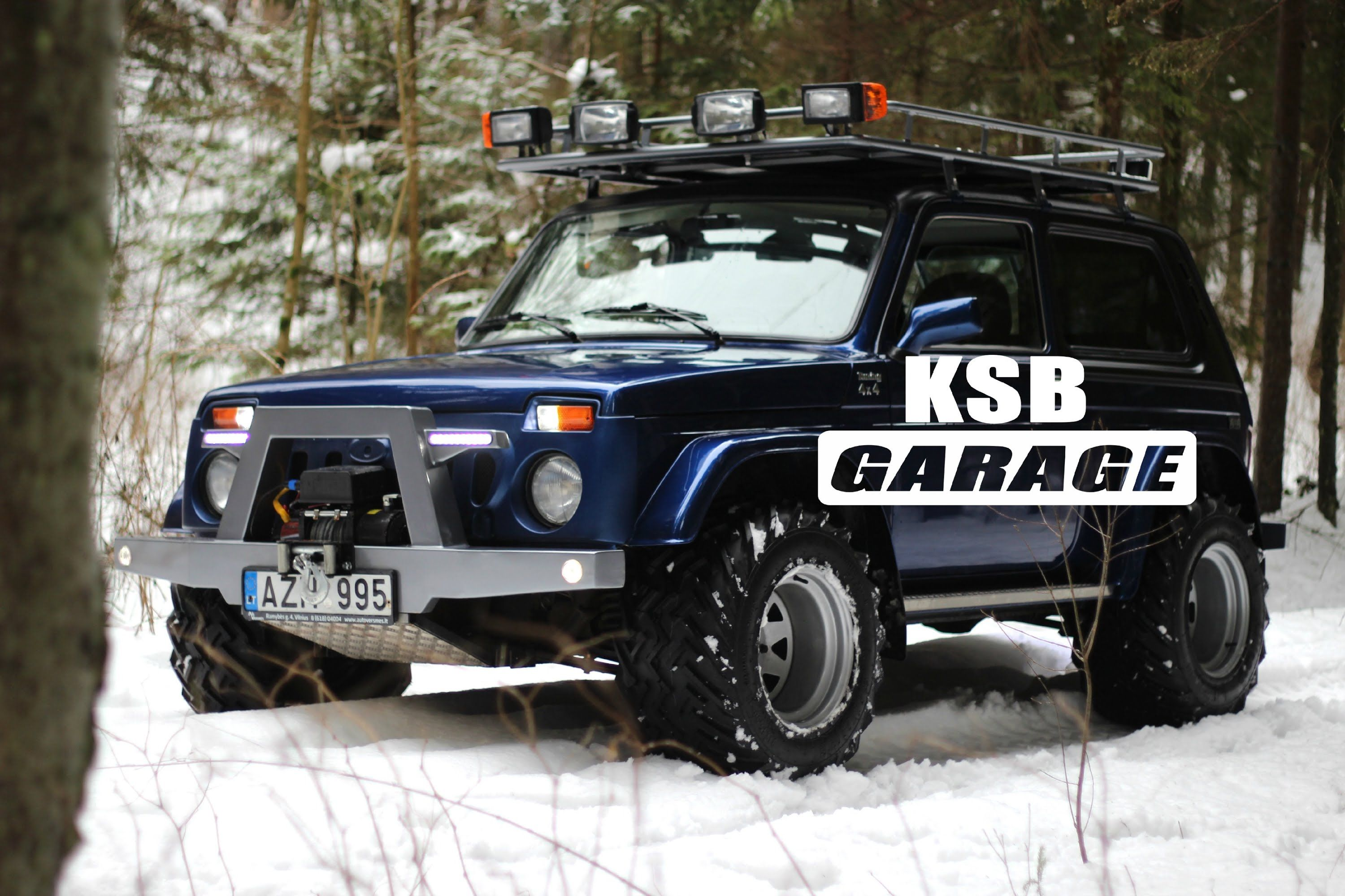 lada niva ksb garage ep 3 russian car 4x4 pinterest. Black Bedroom Furniture Sets. Home Design Ideas