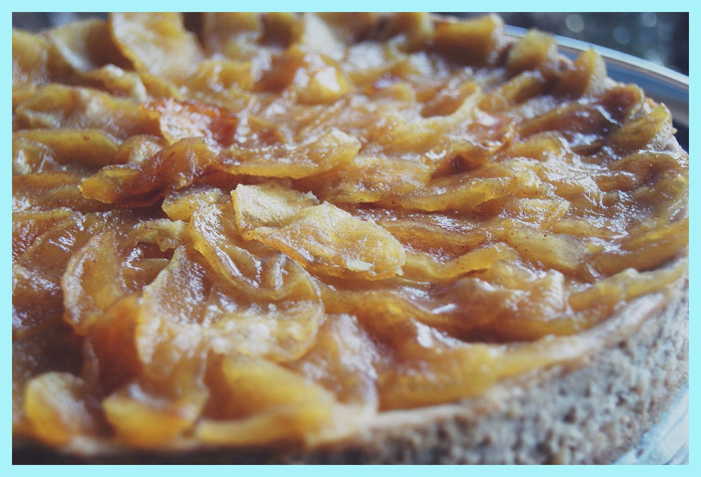 Jablkovo-skoricovy Cheesecake! Cinamon-Apple Cake