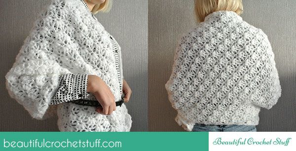 Free Crochet Shawl Pattern | Pieces Together | Pinterest ...