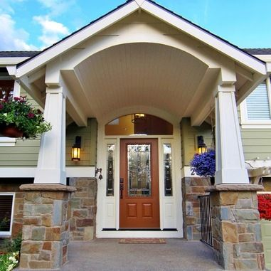 Raised Ranch Front Door Design Ideas, Pictures, Remodel and ... on home front door designs, ranch house french doors, ranch house exterior doors, ranch house front windows, ranch house double entry doors, ranch house bathroom design,