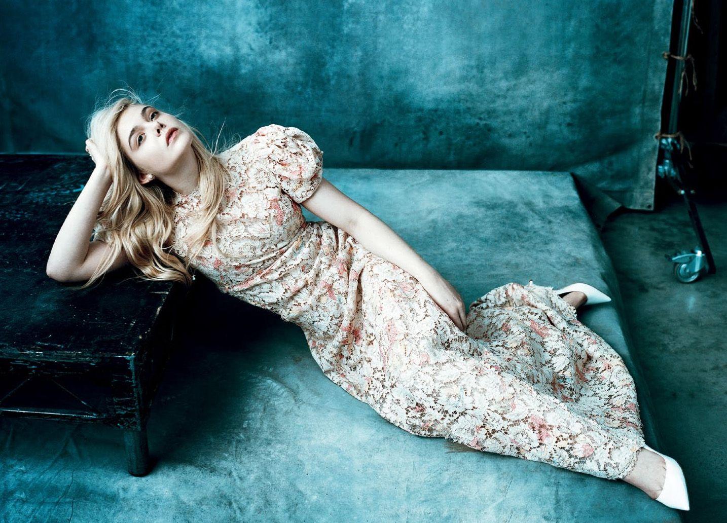 ELLE FANNING PHOTO SHOOTS | Elle Fanning blogspot ♥: Elle Fanning Norman Jean Roy photoshoot ...