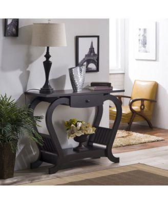 Furniture Of America Annalee Modern Espresso Console Table