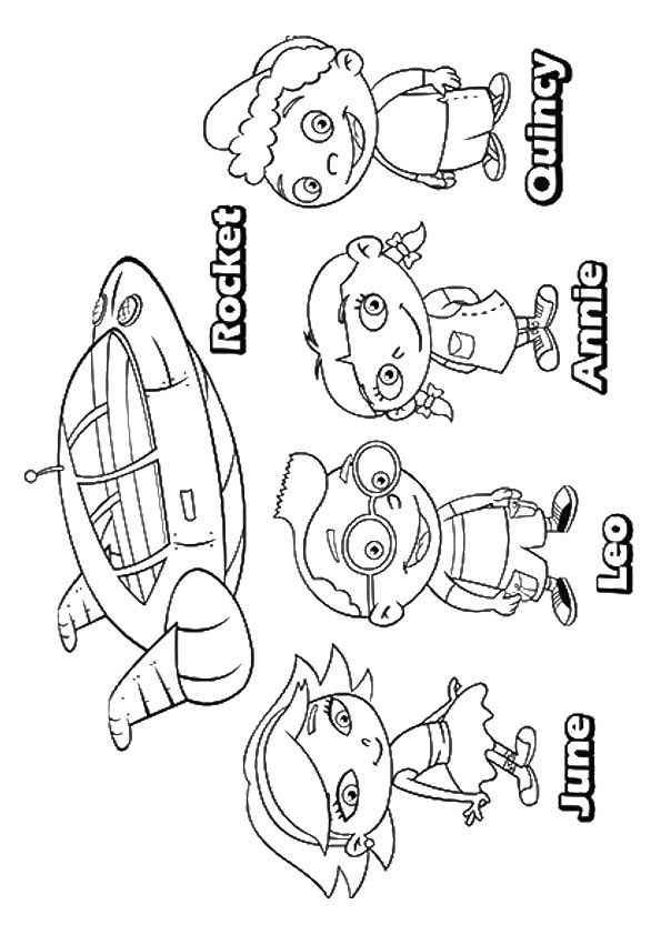 Top 10 Little Einsteins Coloring Pages Your Toddler Will Love To