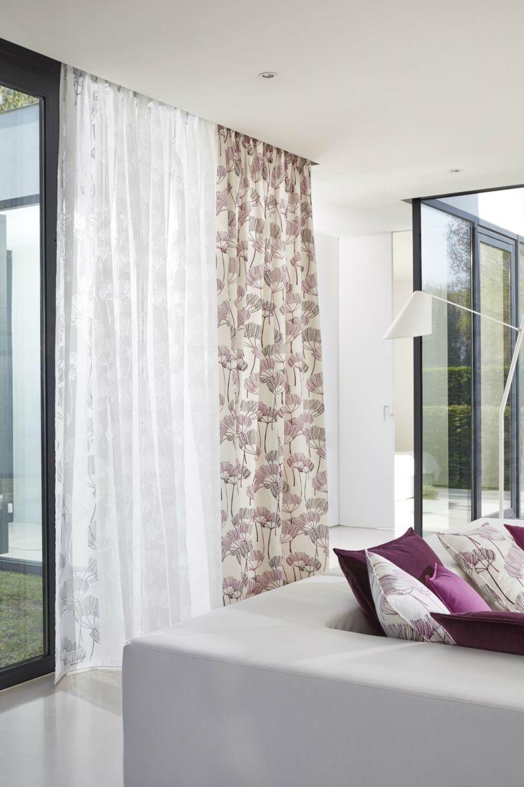 19 ideas de decoración cortinas para 19  Decoracion cortinas