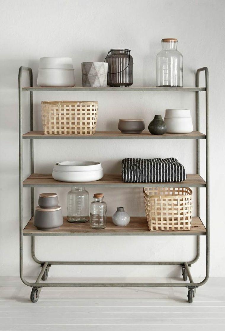 Muebles auxiliares de cocina -24 diseños interesantes | organization ...