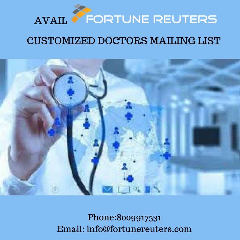Doctors Email Lists Business communication, Email list, List