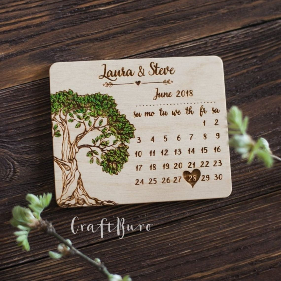 save the date wedding magnets tree save the date tree of life wood save the date magnet engraved save the date custom save the dates
