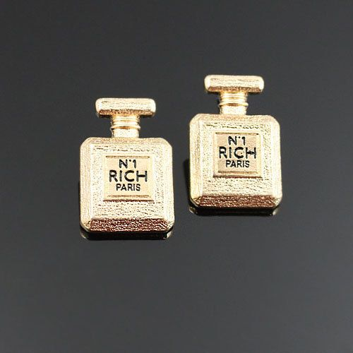 STATEMENT N1 EARRINGS https://www.etsy.com/listing/158536756/gold-paris-n1-rich-perfume-bottle-stud