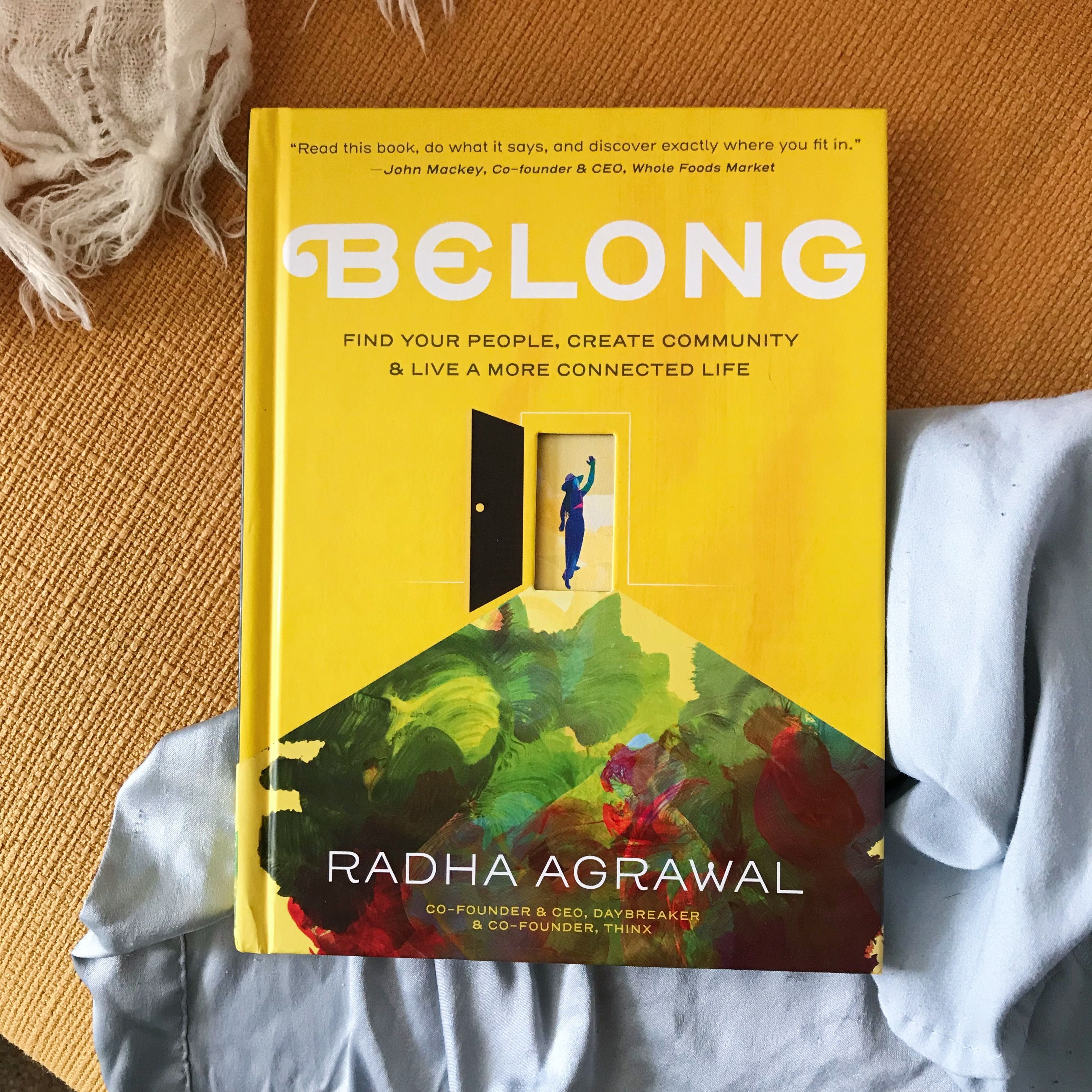 We're spending the week with our book date, BELONG by