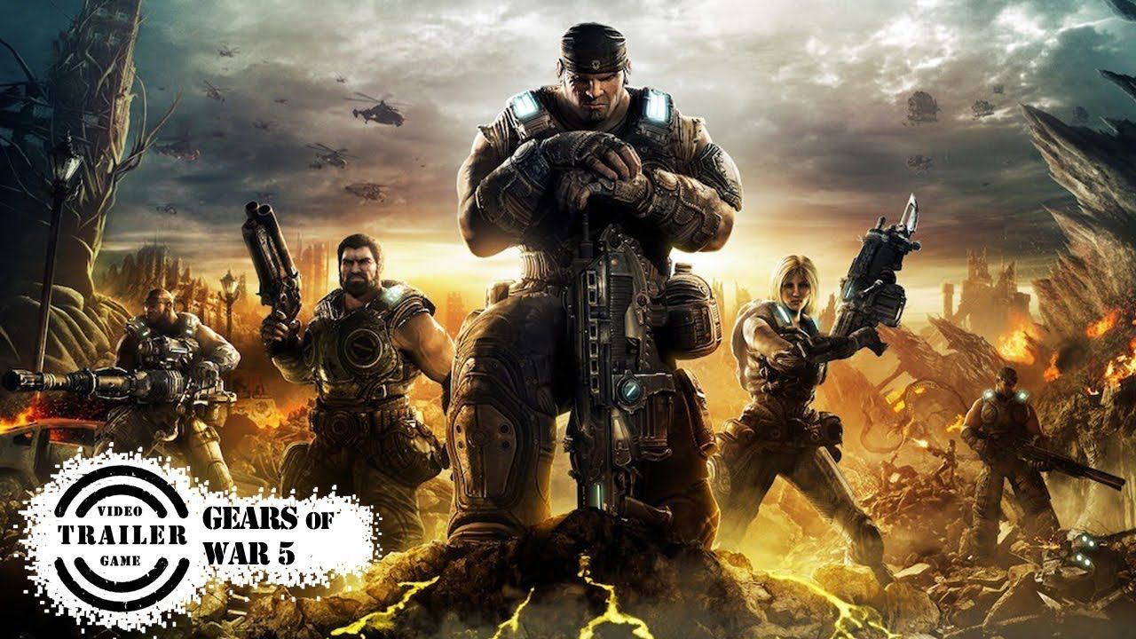 Gears Of War 5 Trailer Gears Of War 5 Trailer Video Games Trailer Best Video Games 2019 Best Video Games 2020 Gears Of War Gears Of War 3 4k Gaming Wallpaper