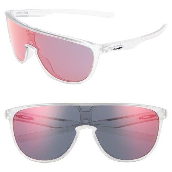 e5178deb4c Women s Oakley Trillbe 140Mm Shield Sunglasses ( 140) ❤ liked on Polyvore  featuring accessories