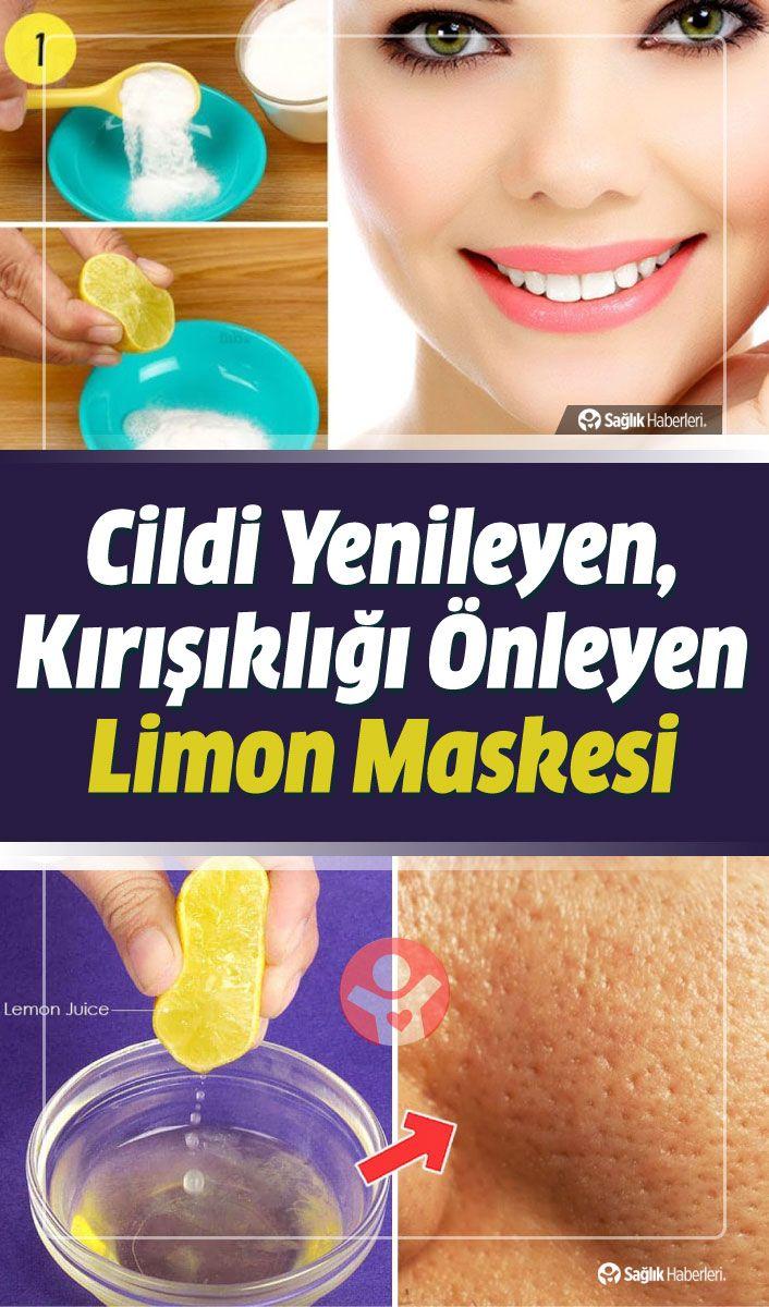 Cildi Yenileyen, Kırışıklıkları Önleyen Limon Maskesi Tarifleri #skincare