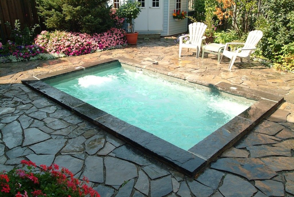Plunge Pool Small Pool And Small Backyard Pool Design And Build