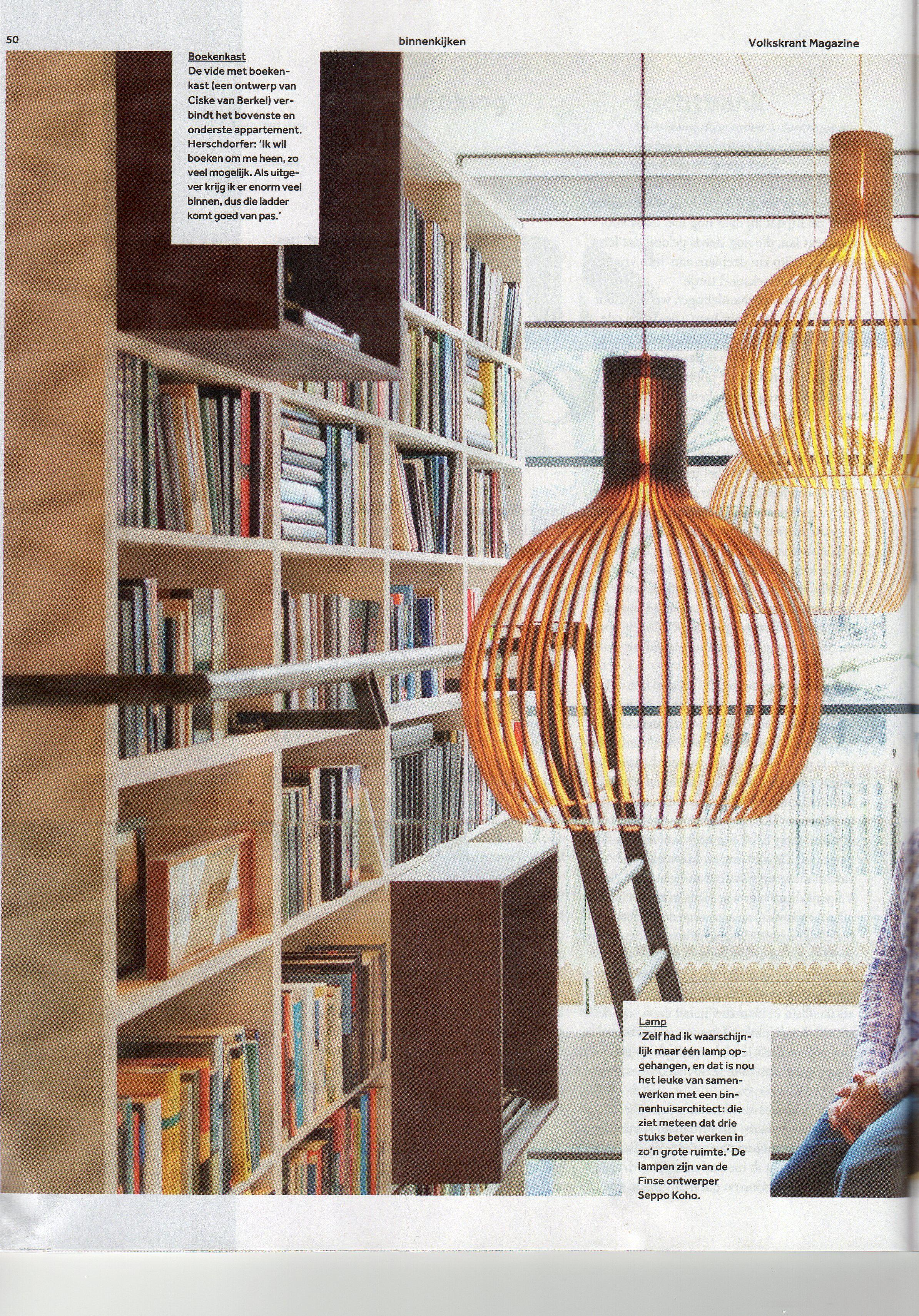 mooie hoge boekenkast