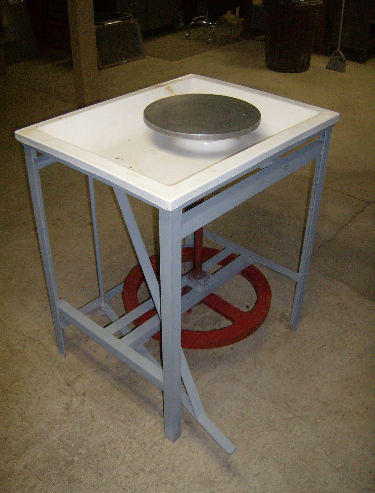 Cleanmud treadle wheel diy pottery