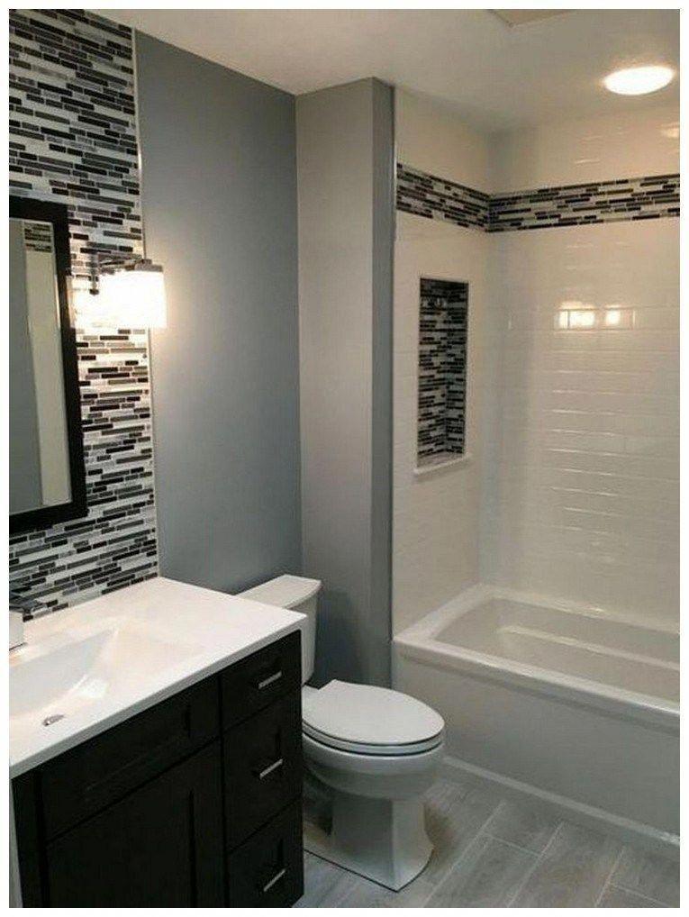 44 Tips And Ideas How To Make A Small Bathroom Look Bigger Bathroomremodel Smallbathroom Tipsandideas Stylish Bathroom Simple Bathroom Bathroom Design Small
