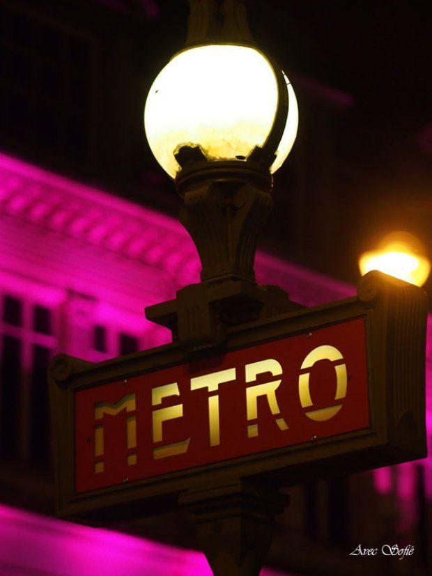 Avec Sofié blog/ #Paris #Parisjetaime #MetroParis #LeBonMarche
