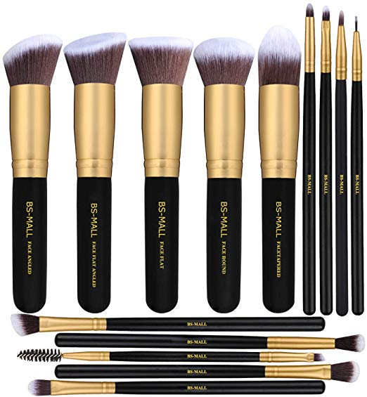 BSMALL Makeup Brushes Premium Synthetic