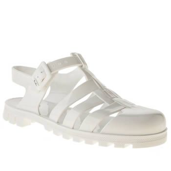 Sandals Womens White White Schuh Vacation Sole Rubber Outsole